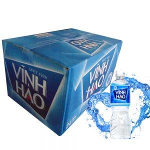 thùng nước khoáng vĩnh hảo 350ml 24 chai