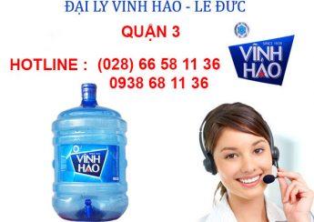 Đại lý phân phối nước khoáng Vĩnh Hảo quận 3