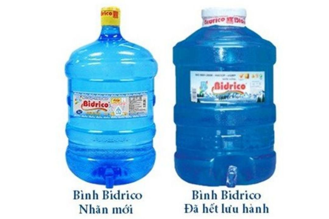 Cách phân biệt nước Bidrico thật giả