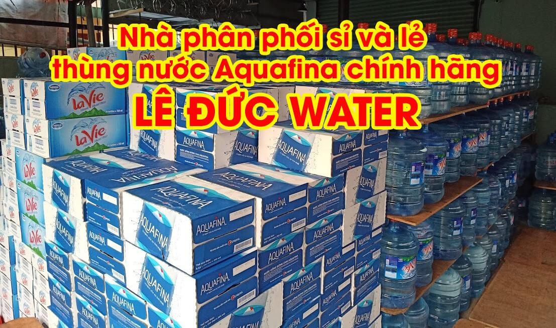 Nhà phân phối thùng nước Aquafina