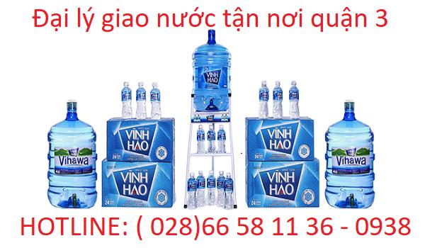Đại lý nước uống quận 3 - Lê Đức Water