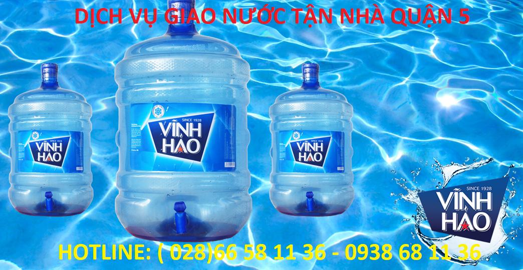 Đại lý giao nước uống quận 5 - Lê Đức Water