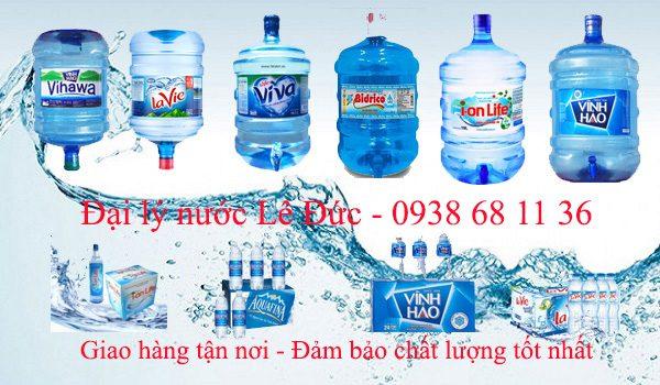 Đại lý giao nước uống quận Gò Vấp gần đây