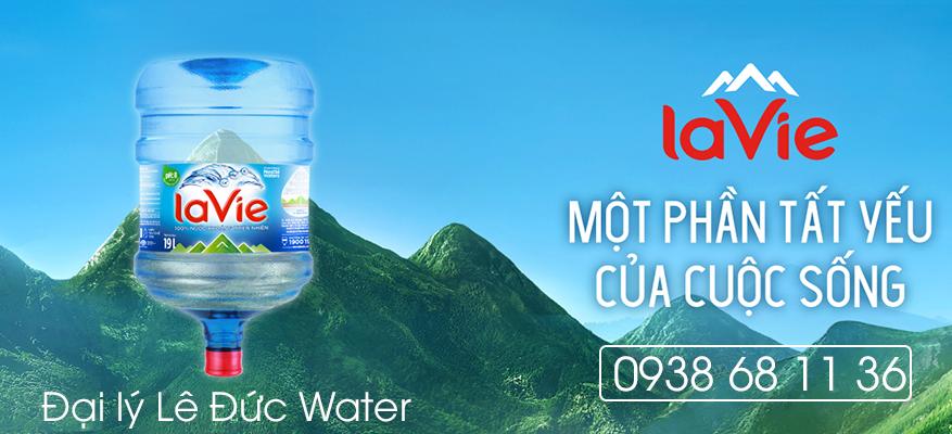 đại lý nước LaVie Lê Đức Water
