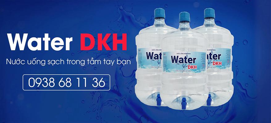 Nước uống Water DKH bình 20L