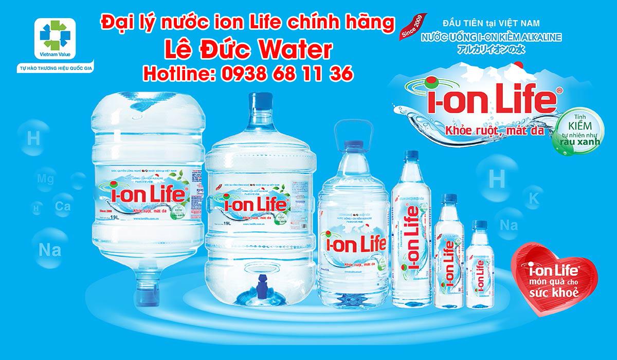 đại lý nước ion life Lê Đức Water