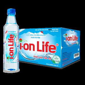 Thùng 24 chai nước ion Life 450ml