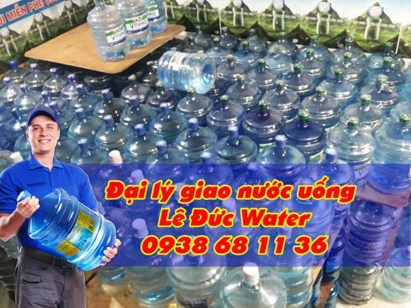 Đại lý giao nước uống quận Bình Tân gần đây