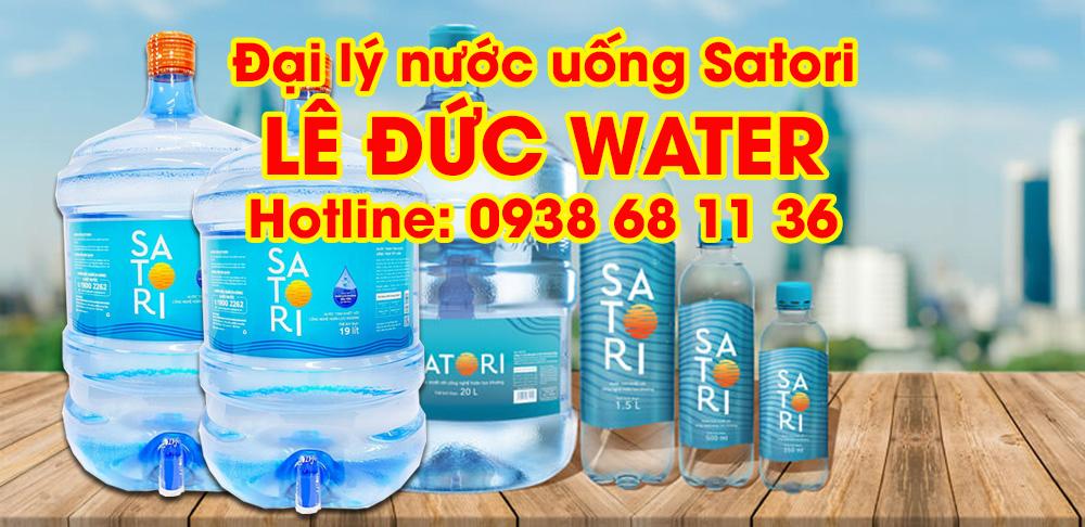 Đại lý nước Satori Lê Đức Water